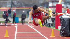 School record long jump one of many successes for SWCC track
