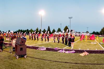 Panther marching band, guard continues streak at state