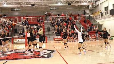 Panthers volleyball season ends in regional loss at ADM